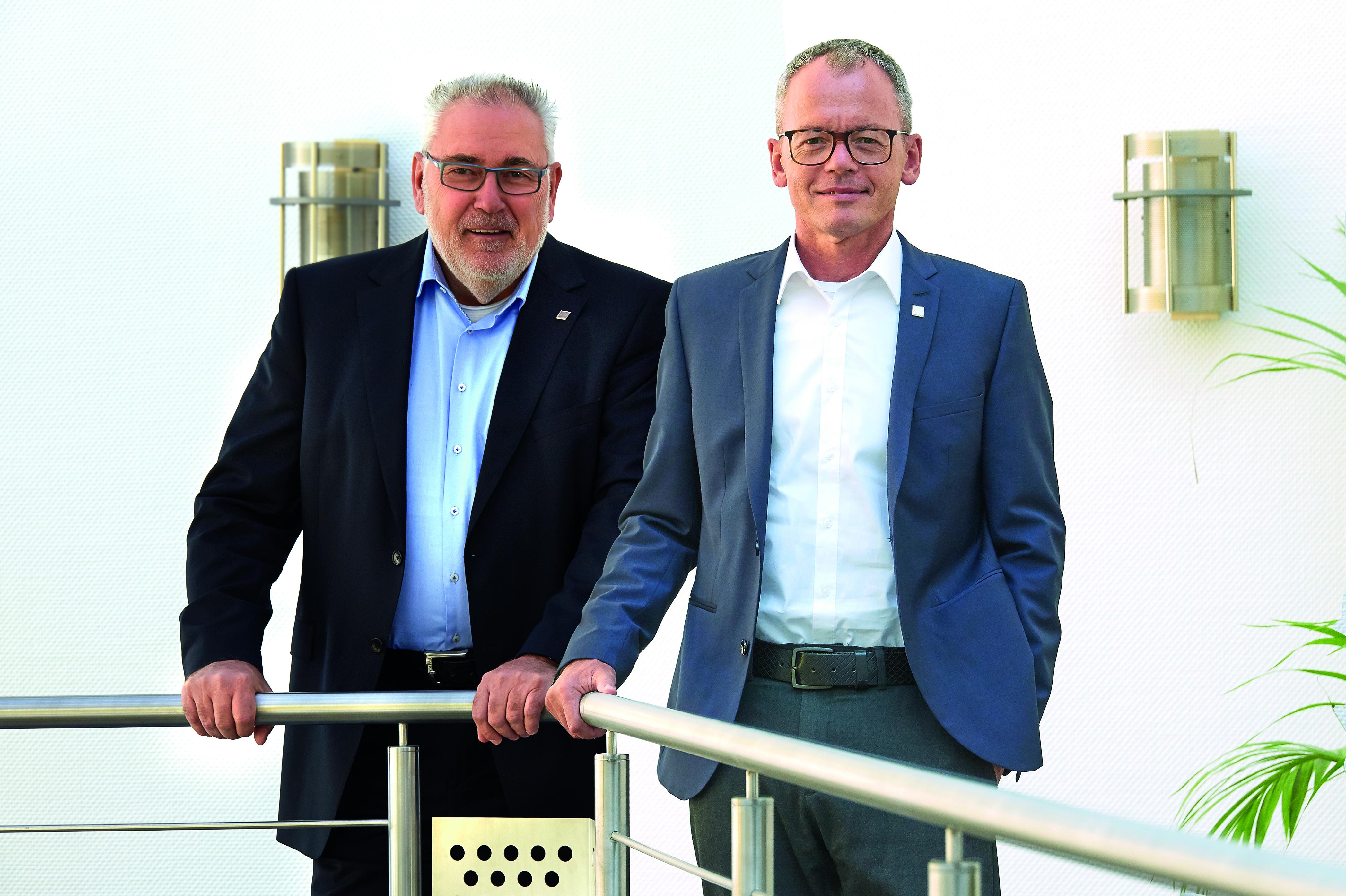 Bernhard Sommer und Klaus Kern