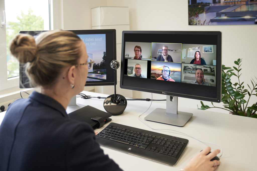 Videokonferenz Kern-Haus
